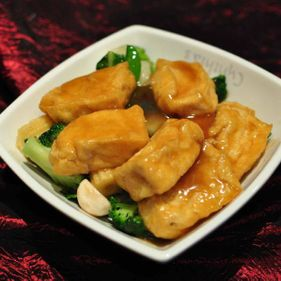 Mix Vegetable with Tofu in Oyster Sauce